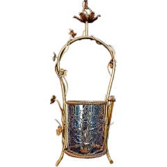 Antique French  brass lantern