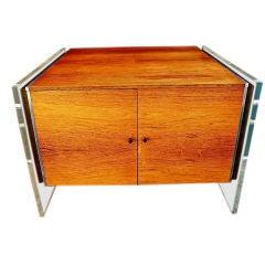 Antique  milo baughman side table