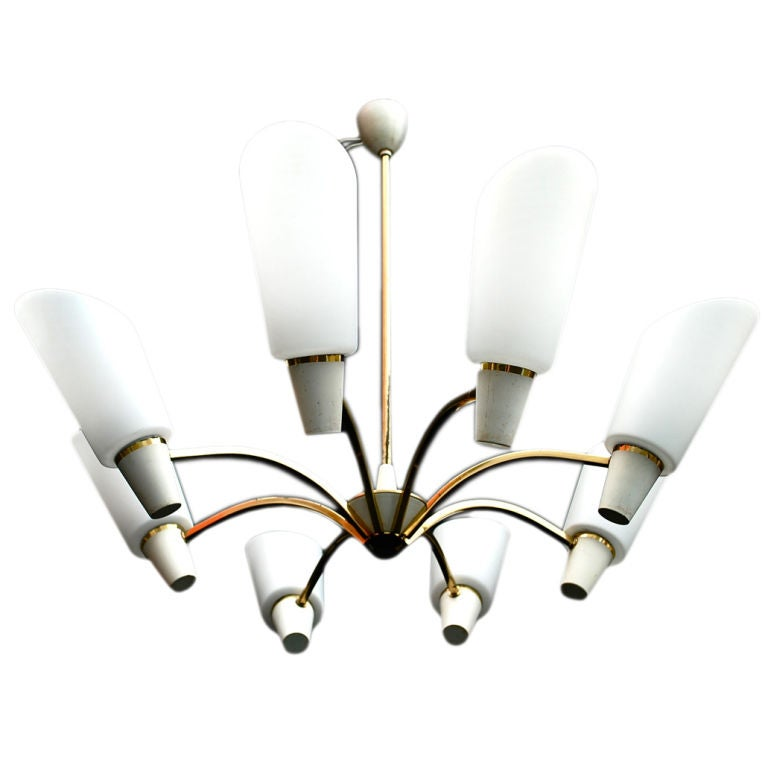 Antique danish chandelier For Sale