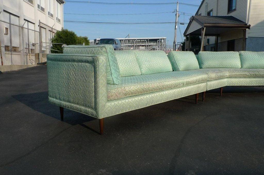 vintage harvey probber sectional sofa at 1stdibs. Black Bedroom Furniture Sets. Home Design Ideas