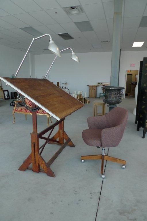 1920's architects drafting table desk at 1stdibs