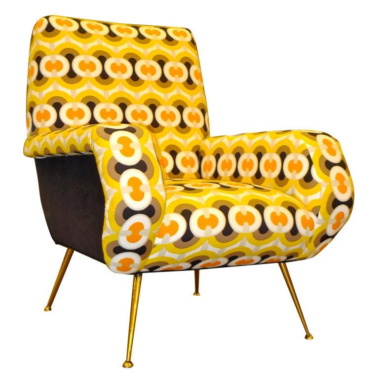 1950s Italian Lounge Chair 1