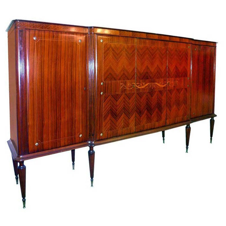 1950's Italian Dining Cabinet after Paolo Buffa For Sale