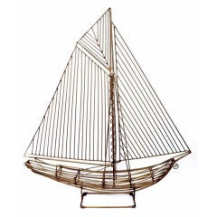 C. Jere - Sailboat Sculpture