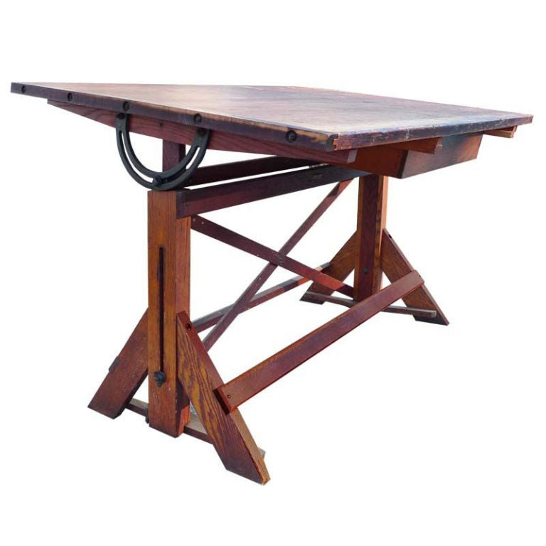 1920s Architects Drafting Table Desk at 1stdibs : 8866126762342611 from www.1stdibs.com size 768 x 768 jpeg 44kB