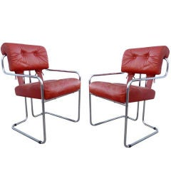"""Set of Six """"Tucroma"""" Chairs for Pace Collection"""