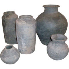 Collection of Han Dynasty Pottery