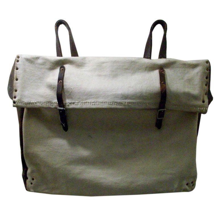 Late 19th C. American Mail Bag 1