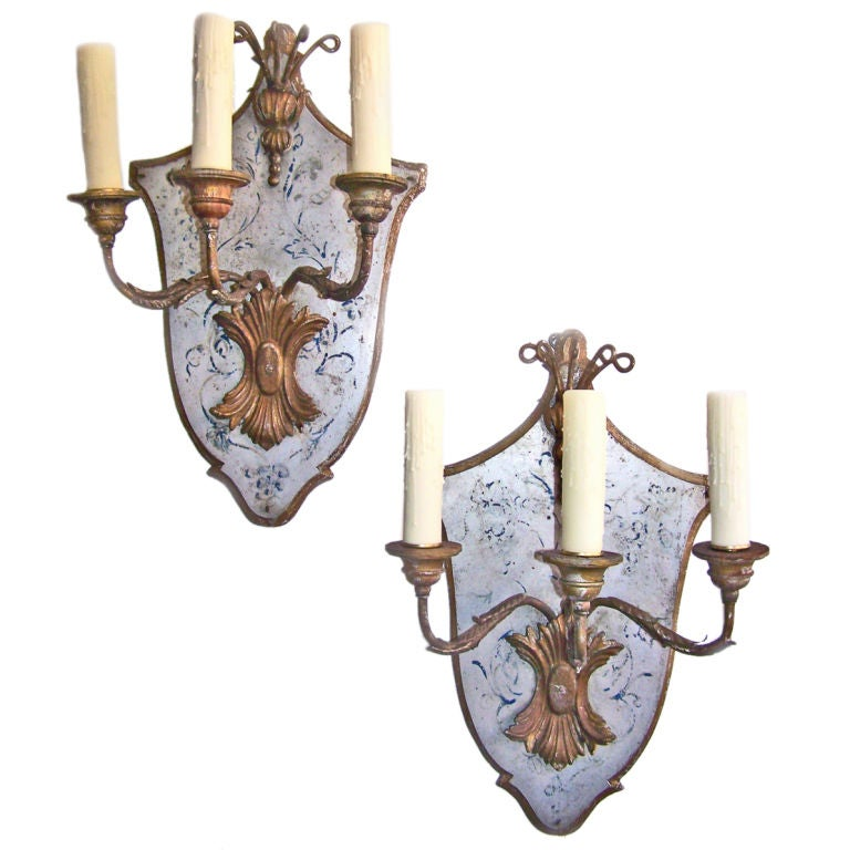 Italian Made Wall Sconces : Italian Sconces at 1stdibs