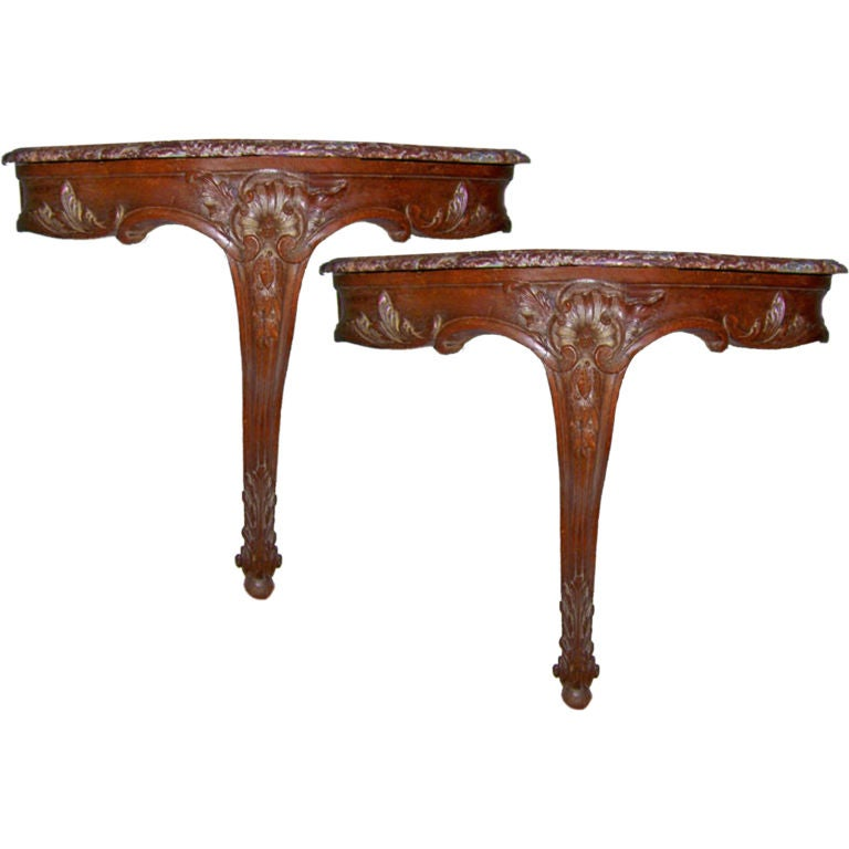 mahogany carved demilune console at 1stdibs donald trump