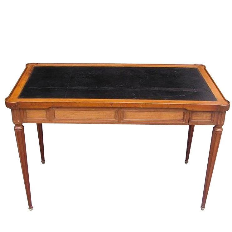 Italian Mahogany Tric Trac Game Table. Circa 1815