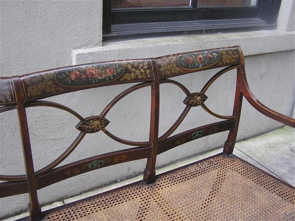 English Sheraton Bench For Sale 2