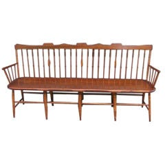 American Sheraton Windsor Bench