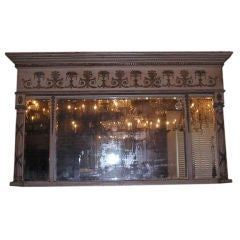 English Over Mantle Mirror