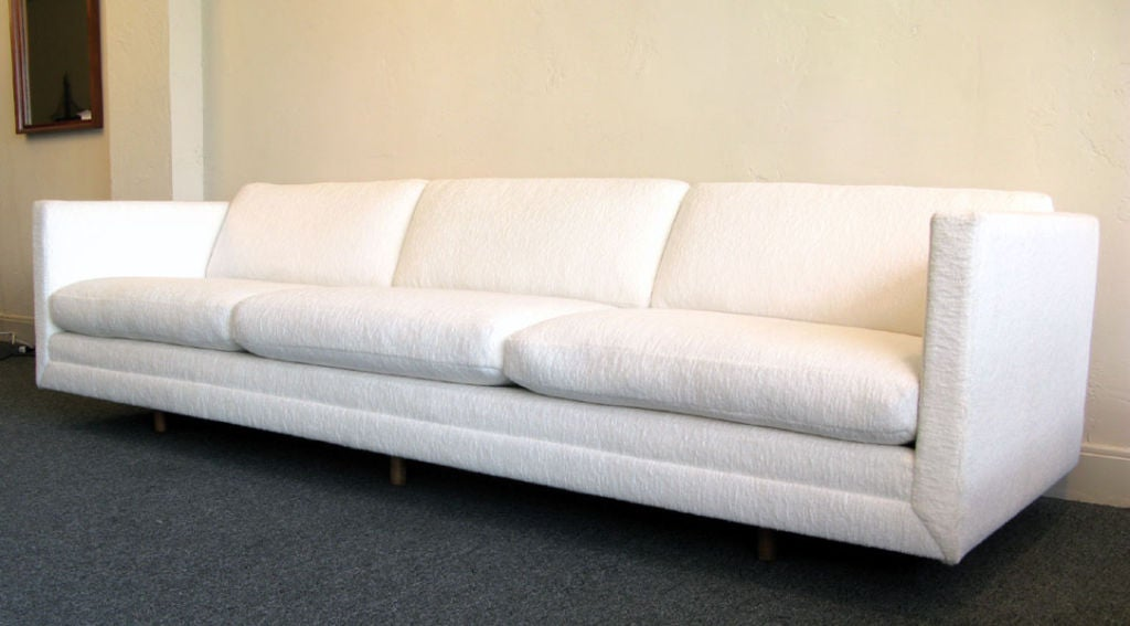 Eight Foot Six Inch Sofa By Harvey Probber At 1stdibs