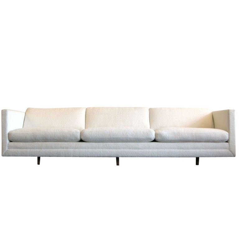 Eight Foot Six Inch Sofa By Harvey Probber