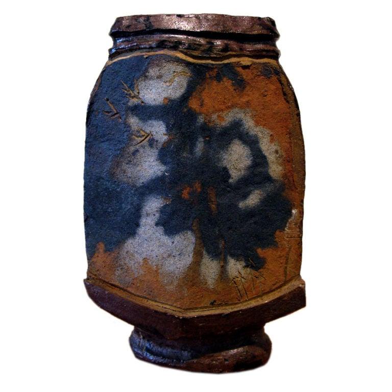 Large Ceramic Sky Pot by Jerry Rothman 1961