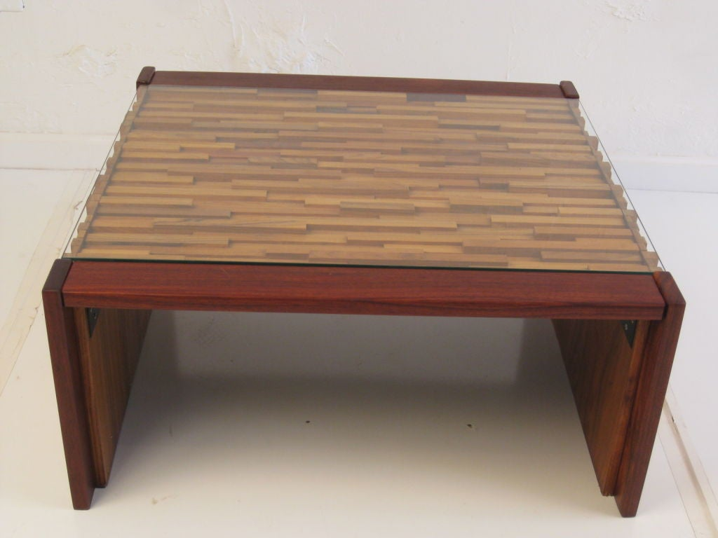 Butcher Block Coffee Table By L 39 Atelier At 1stdibs