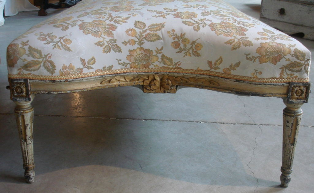 18c louis xvi chaise longue at 1stdibs for Chaise louis xvi