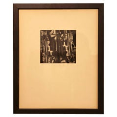 John Barbour experimental photograph, 1966