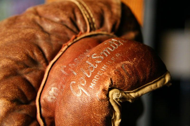 Vintage Leather Boxing Gloves At 1stdibs