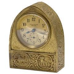 "Tiffany Studios ""Zodiac"" Desk Clock"