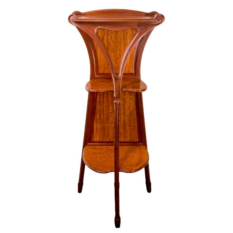 French Art Nouveau Pedestal by, Louis Majorelle For Sale