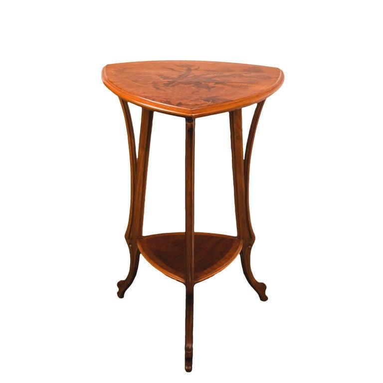 French Art Nouveau Table by, Emile Gallé