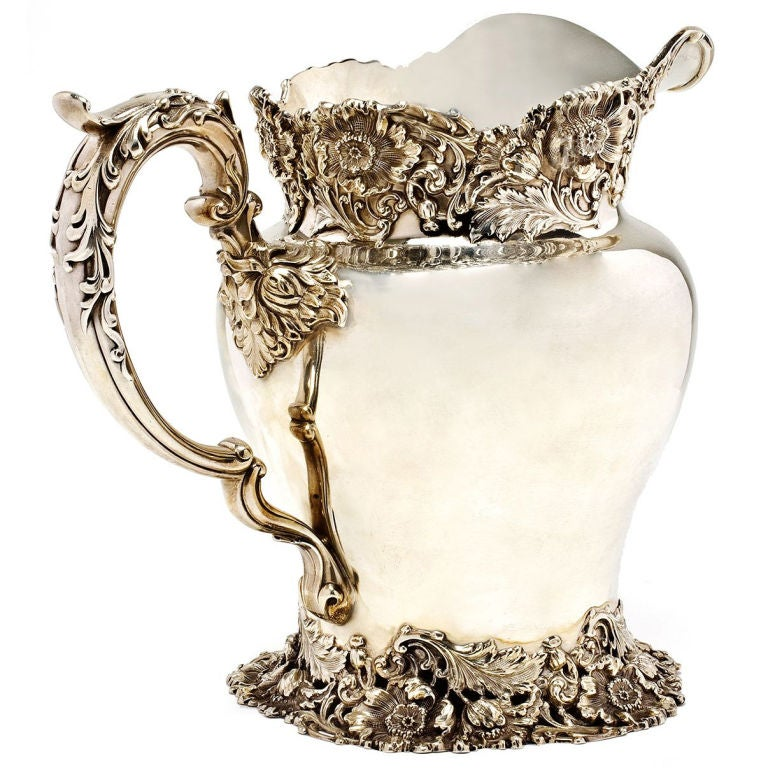 Antique Sterling Silver Pitcher At 1stdibs