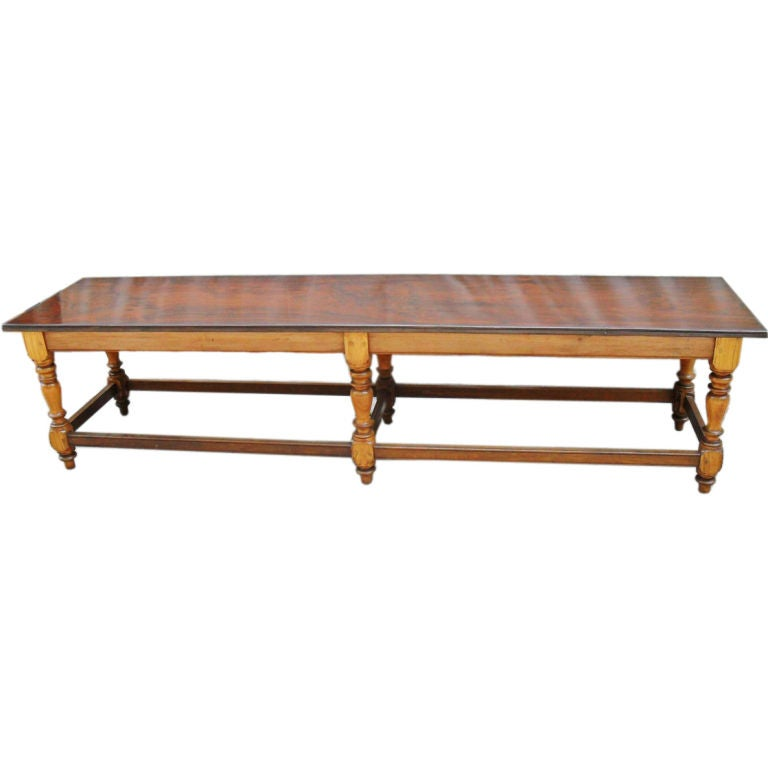 Anglo Indian Rosewood And Satinwood Bench Or Coffee Table At 1stdibs