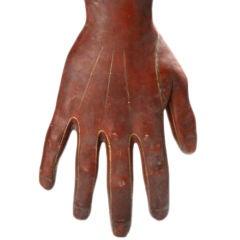 Rare Shop Sign of a Glove Maker
