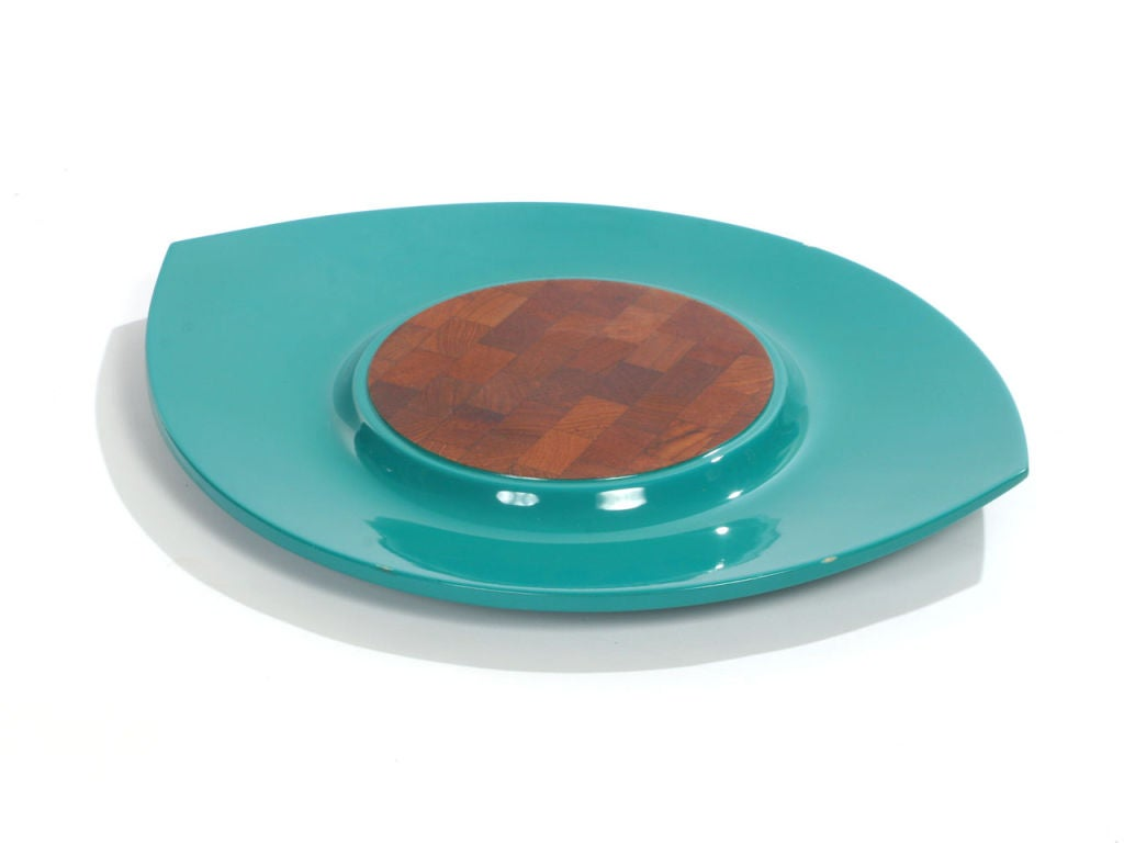Mid-20th Century Lacquer Trays by Jens Quistgaard for Dansk