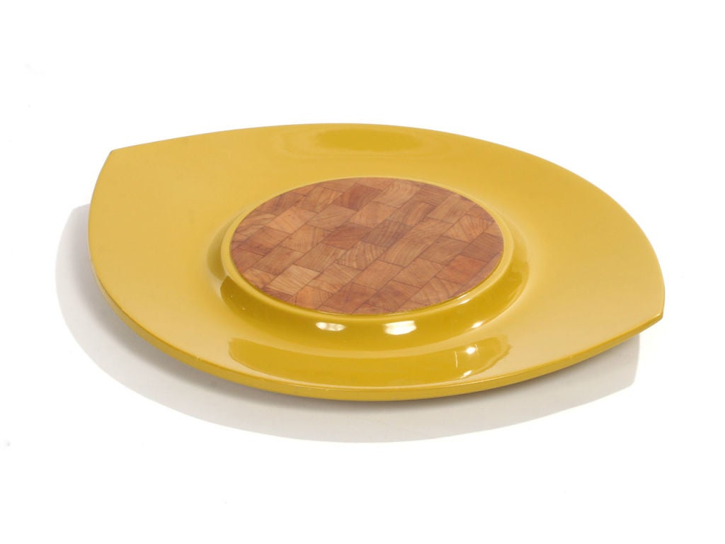 Teak Lacquer Trays by Jens Quistgaard for Dansk