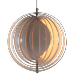 The Moon Lamp by Verner Panton for Louis Poulsen