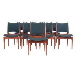 the Egyptian Chair by Finn Juhl cabinetmaker Niels Vodder