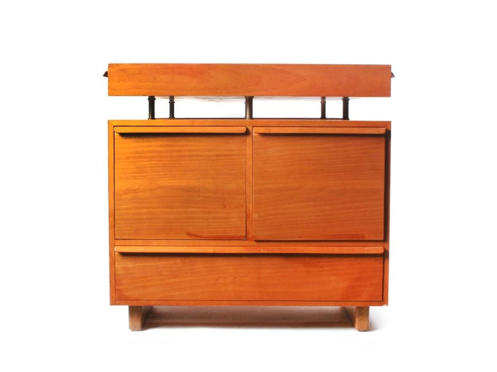 Floating Top Partners Desk By Edward Wormley At 1stdibs