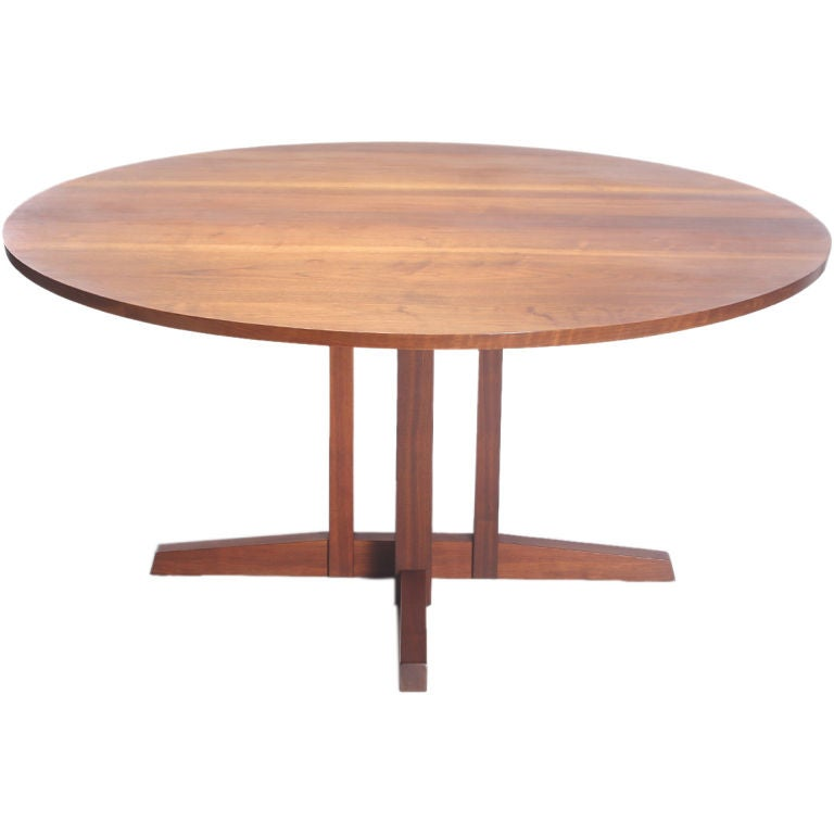 The Frenchman S Cove Round Table By George Nakashima At
