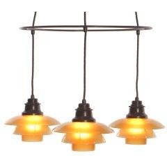 Poul HENNINGSEN Double Ringkrone Lamp