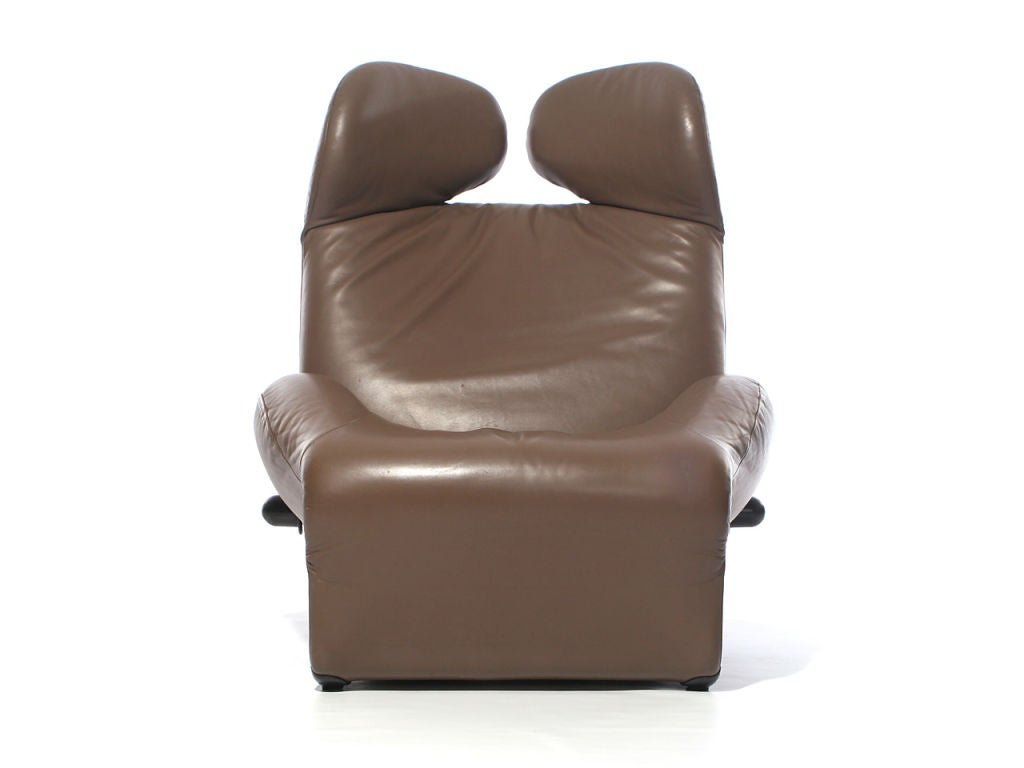 1980s Brown Leather