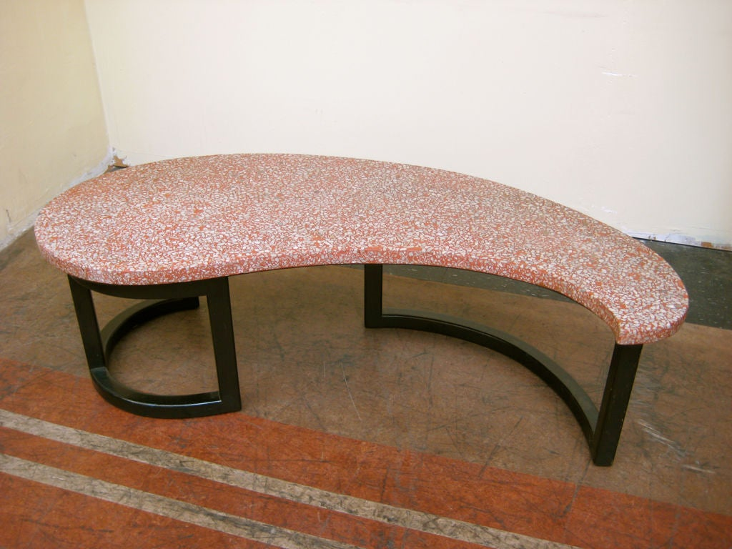 Terrazzo Coffee Table At 1stdibs