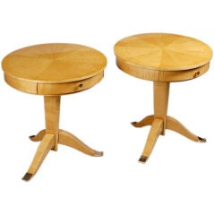 A Pair of Art Deco Occasional Tables