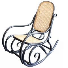 19th Century Thonet Rocking Chair