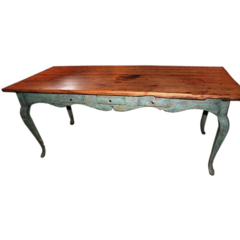 Swedish Rococo Table At 1stdibs