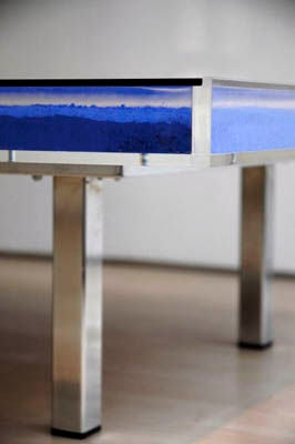 Table Klein Blue™ by Yves Klein For Sale 1