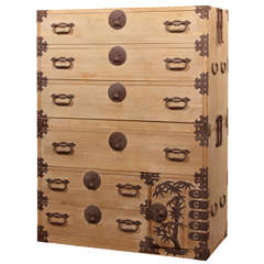 Japanese Clothing Tansu Chest