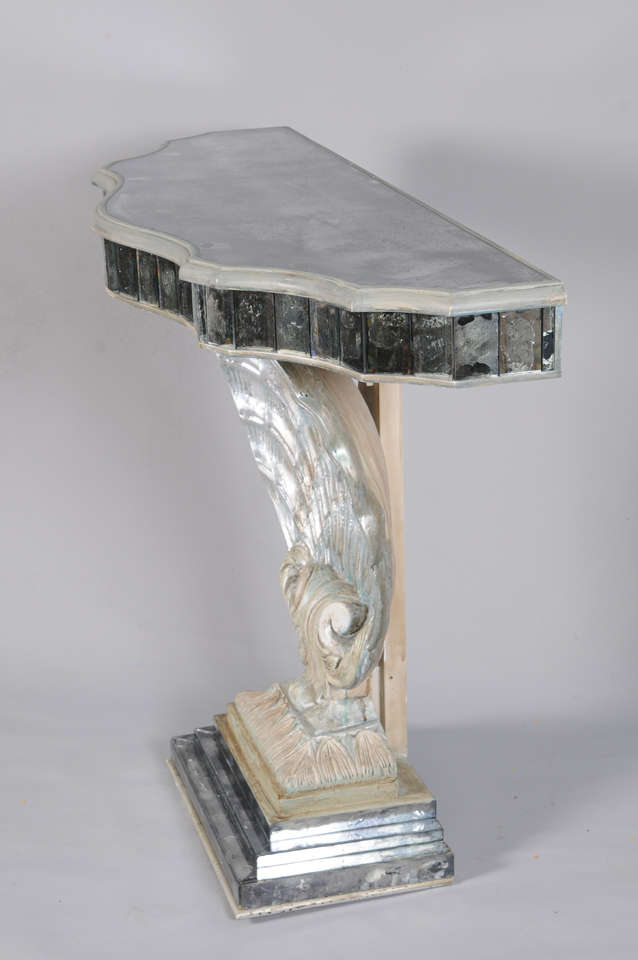 Scallop Shell Console Table At 1stdibs