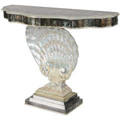 Scallop Shell Console Table