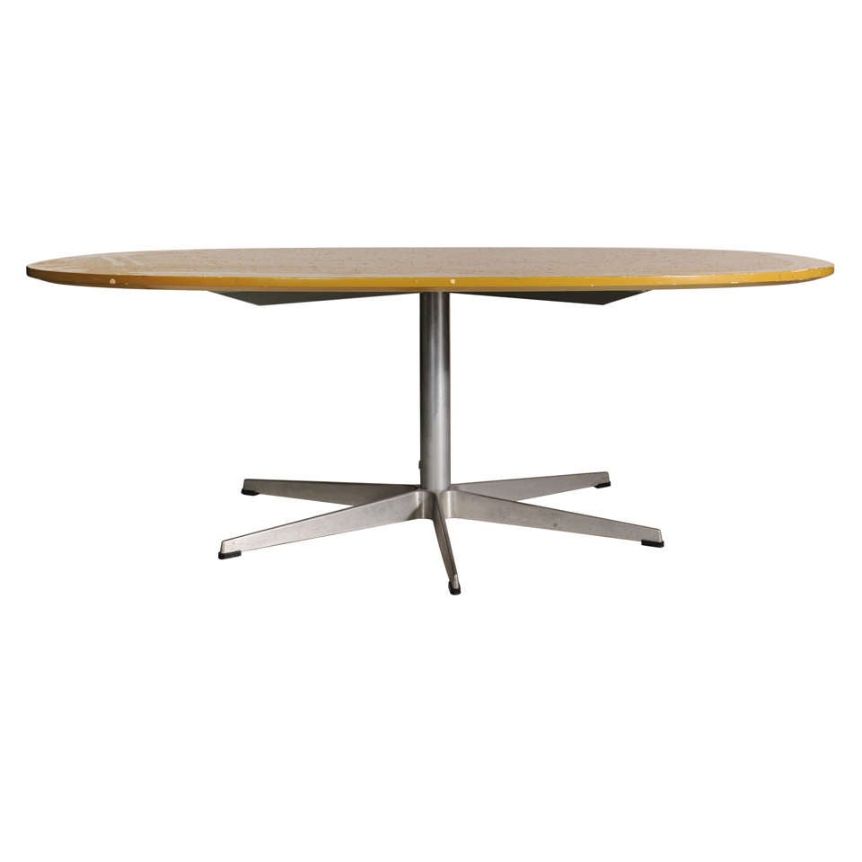 Coffee Table By Bruno Mathsson Manufactured By Fritz Hansen At 1stdibs