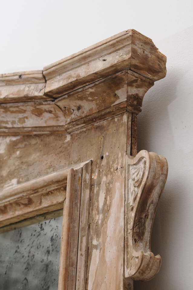 Rustic Italian Mirror At 1stdibs