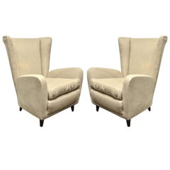 Set of Four Armchairs by Paolo Buffa
